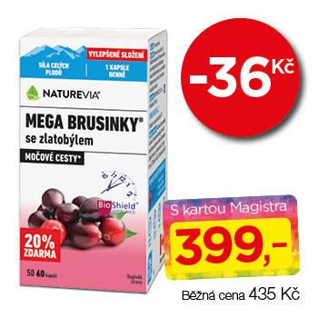 NatureVia® Mega brusinky