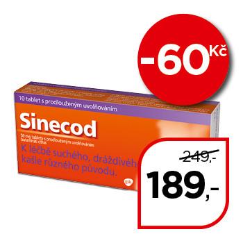 Sinecod 50 mg tablety s prodlouženým uvolňováním