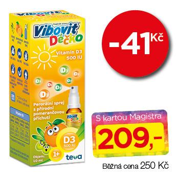 Vibovit Déčko  Vitamín D3 500 IU