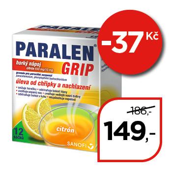 Paralen® Grip horký nápoj citrón