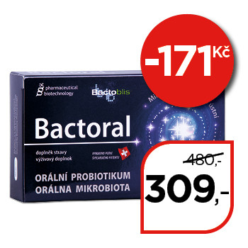 Bactoral – orální probiotikum