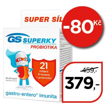 GS Superky probiotika