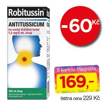 Robitussin Antitussicum na suchý dráždivý kašel