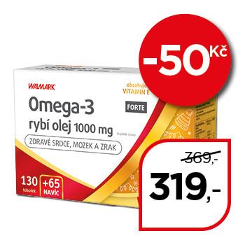 Omega-3 FORTE rybí olej 1000 mg