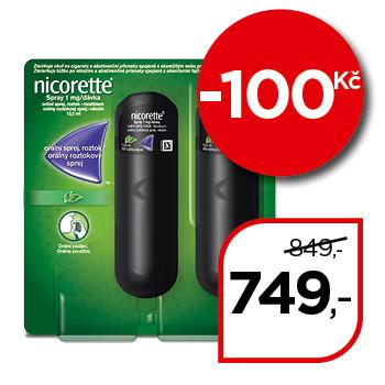 Nicorette® Spray 1 mg/dávka