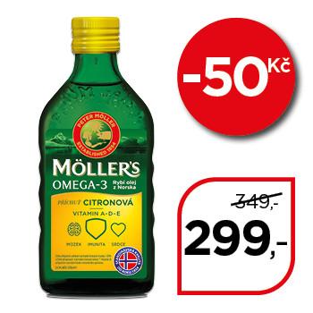Möller's Omega 3 citron
