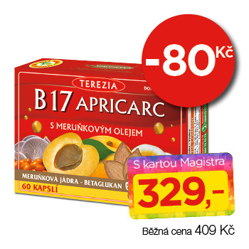 B17 APRICARC s meruňkovým olejem