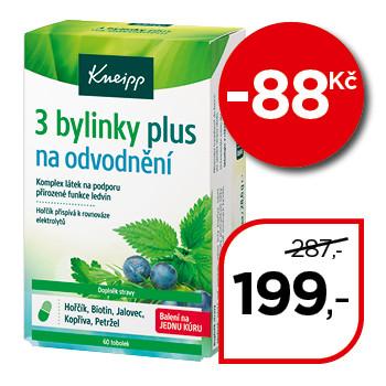 Kneipp® 3 bylinky na odvodnění + Kneipp® Odvodnění šumivé tablety