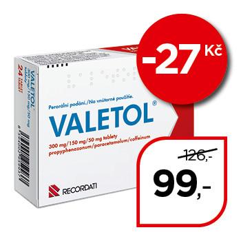 VALETOL® 300 mg/ 150 mg/50 mg