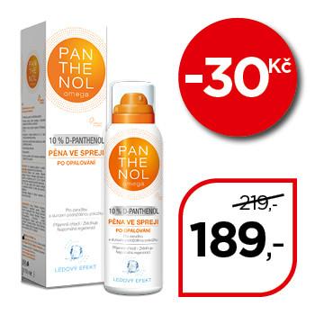 Panthenol Omega Chladivá pěna  ve spreji 10%
