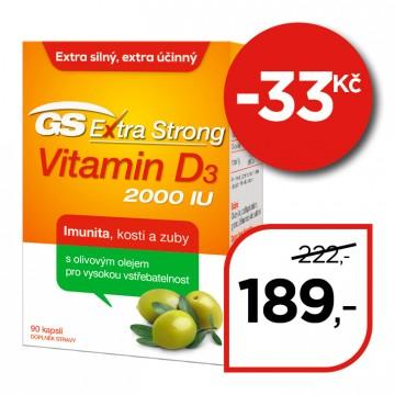 GS Extra Strong  Vitamin D 2000 IU
