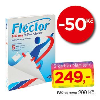 Flector® EP Tissugel  180 mg léčivá náplast
