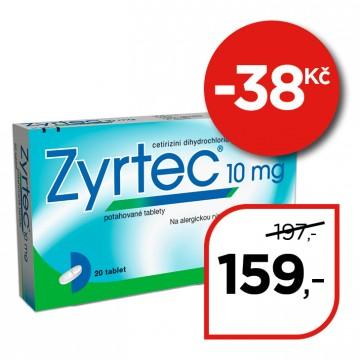 Zyrtec 10 mg  potahované tablety