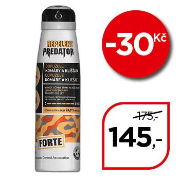 Repelent PREDATOR FORTE spray